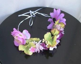 Summer Medley Flower Crown