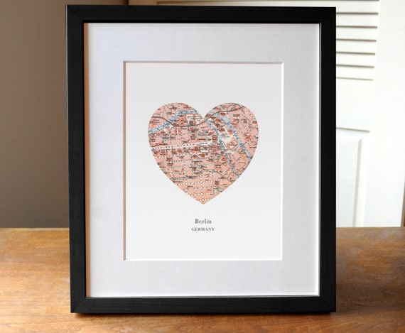Berlin Heart Print