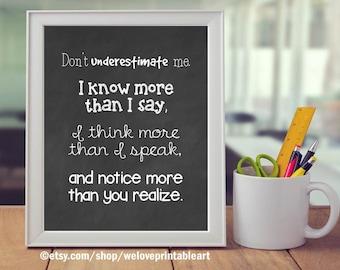 Preschool Teacher Poster, Early Childhood Sign, Special Education Teacher Quote Poster, Preschool Teacher Classroom Decoration, Teacher Gift