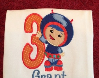 Team UmiZoomi Geo shirt or bodysuit