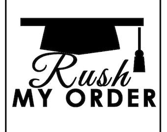 Rush My Grad Cap Order