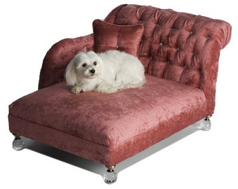 Pink Dog Bed, Small Dog Bed, Luxury Pet Bed, Pet bed, Dog Bed, Cat Bed, Fashion Dog Bed, Stylish Dog Bed, Decorative Dog Bed