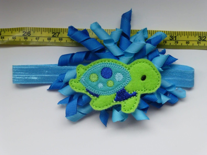 Under the Sea Turtle Headband Turtle Hair by ...