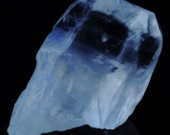 Beautiful Large Water Clear Fluorescent Calcite Crystal