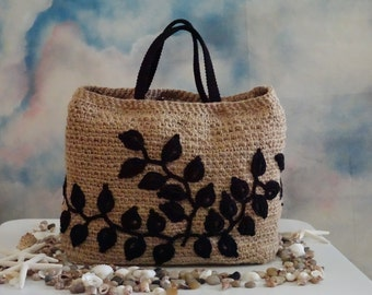 jute bag with lanyard