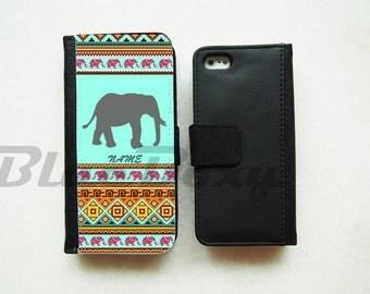 Shadow Elephant Aztec Case - iPhone X, iPhone 8/8 Plus, iPhone 7/7 Plus, iPhone 6/6s, iPhone 6 Plus, iPhone 5/5s, iPhone 4/4s, Flip Case