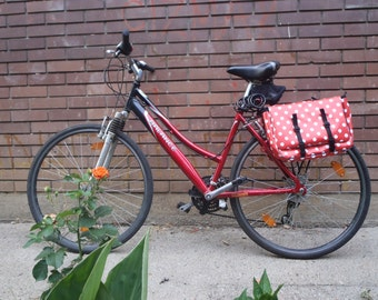 PVC pannier POPCYCLE bicycle bag