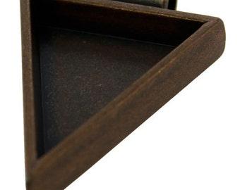 """Triangle Pendant 1-1/4""""x1"""" ID Antique Copper Color  (3000CC-44)"""
