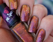 Re-Stock: Scheherazade~Tales Of 1001 Nights Collection Indie Nail Polish Multichrome UCC Flakies 2 Sizes 6/10ML