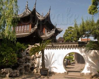 Yu Garden - Shanghai, China -- Choose your Size
