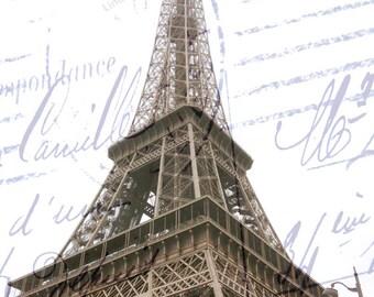 Eiffel Tower Print, Paris Eiffel Tower Decor, Eiffel Tower Print,