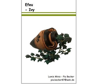 Efeu Bastelpackung 1:12 - Ivy Do It Yourself Kit 1/12 scale
