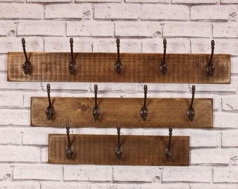 Salvaged Timber Coat Rack