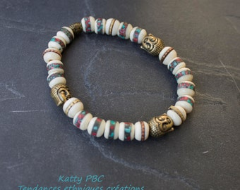 "Bracelet Tibetan  ""Leng"""