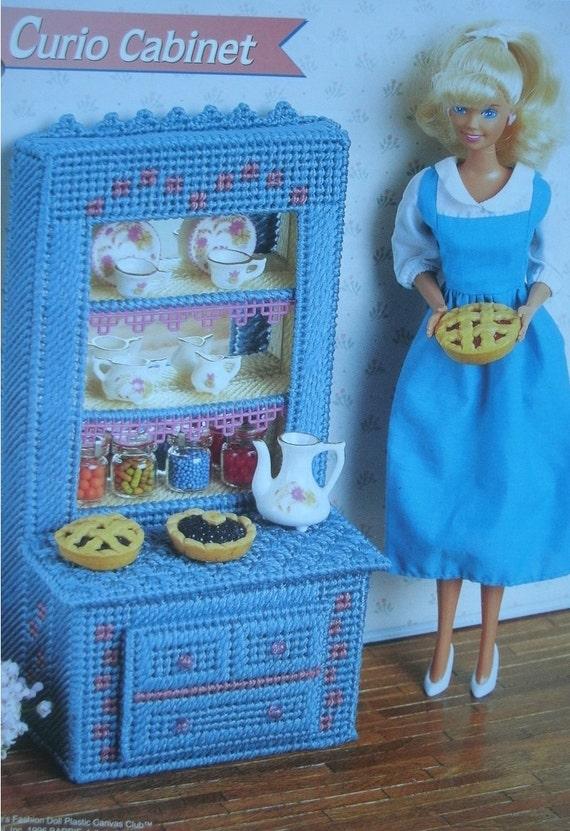 Barbie Or Fashion Doll Dollhouse Furniture Curio