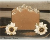 OATMEAL MILK and HONEY Scented Handmade Soap, Cold Process Soap