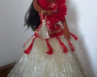 Vintage Hawaiian Dancer / Hula Girl