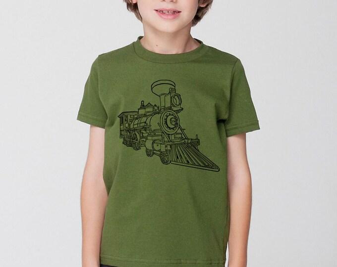 KillerBeeMoto: Train Locomotive CPR Steam Engine No 374 Short & Long Sleeve Shirt