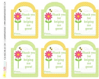 Accomplished image throughout thanks for helping me bloom printable