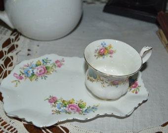 Adorable tea cup and saucer