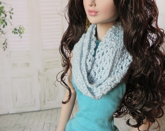 "Infinity Scarves for Tulabelle and other 16"" Fashion Dolls"