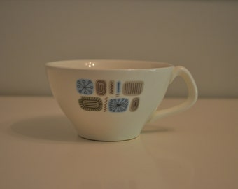 Retro Temporama Tea Cup - Canonsburg Pottery