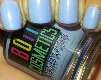 Nail polish, blue nail polish,pastel blue