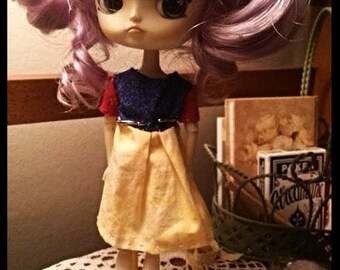 Disneybound Snow White dress for Dal, Byul, and Pullip