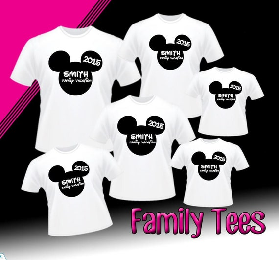 Free shipping discount custom disney family by xtremeboutique for Cheapest place to make custom t shirts