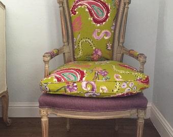 Items Similar To French Louis Xvii Arm Chairs Malachite