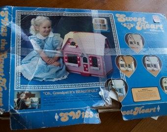 Sweet Heart Dollhouse Kit by Dura-Craft SW125 1985