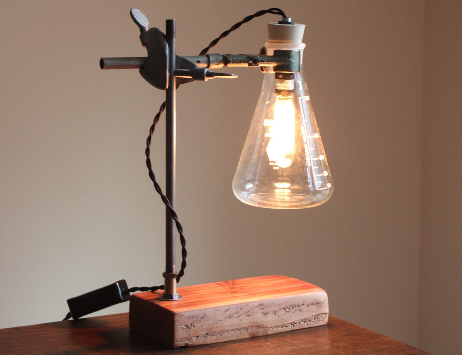 Industrial Desk Lamp Science Steampunk Table By