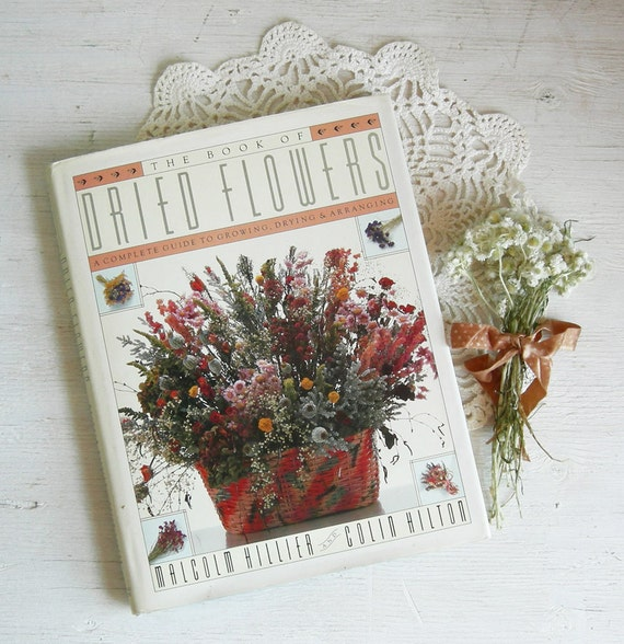 Dried flowers book floral arranging weddings by