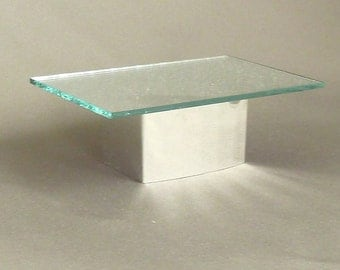 Mirrored coffee table dollhouse miniature 1/12 scale