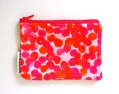 Pink Purse, Hot Pink Wallet, Gift for Women, Best Friend Gift, Credit Card Holder.