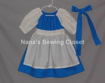 Belle Inspired Village Dress