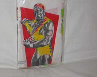 vintage 1991 trendsetters  official wwf  tablecloth