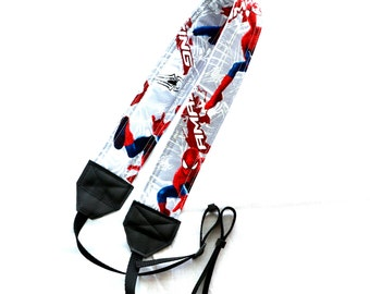 Spiderman DSLR Camera Strap! This is a full strap not a cover! Standard Size