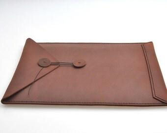 Leather iPad case, iPad cover, iPad sleeve , Tablet case, iPad case leather L-064