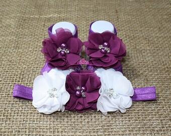 Baby Barefoot Sandals - Newborn Shoes - Newborn Sandals - Baby Shoes - Baby Sandals - barefoot sandals baby - Baby Shower Gift - Sandals
