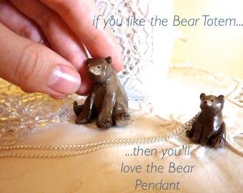 Bear Totem Pendant
