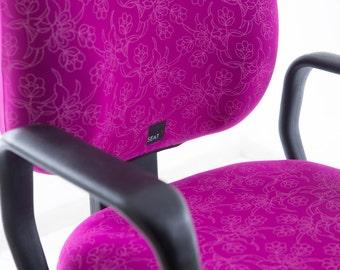 Seat X - the office chair cover, one size fit all Limited Printed Edition