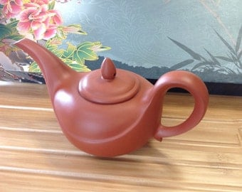 Long mouth  Tea Pot Red 5oz. Was 55,now only 19.95