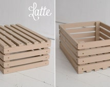 Popular items for wood crate on Etsy