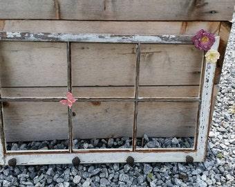 Rustic Hanging Window