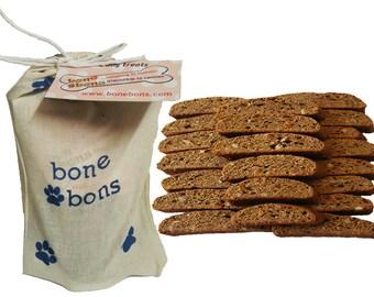 Bone Bons Carrot Anise Biscotti Dog Treats