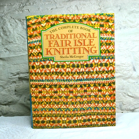 Fair Isle Knitting Books : Traditional fair isle knitting by mcgregor vintage