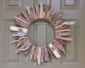 "20"" Driftwood Sunburst Wreath--READY TO SHIP!"