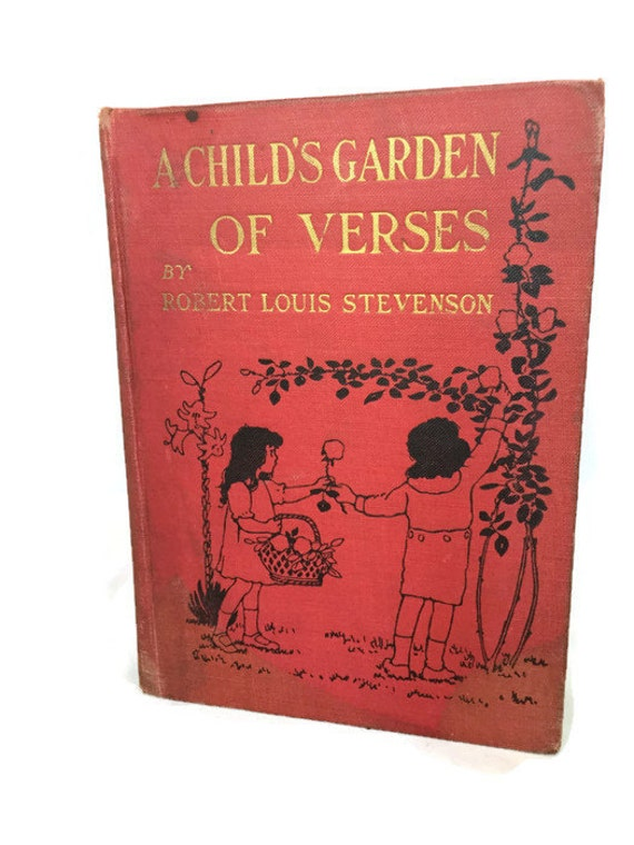 1919 Hardcover Edition A Child 39 S Garden Of Verses By