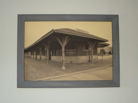 Petticoat Junction Framed Photograph Train Station
